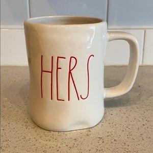 NWOT Rae Dunn Hers Mug
